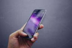 iPhone 6 Handheld by UltraLinx on Creative Market