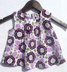 Baby Girl Dress  Purple Bloom by LoopsyBaby on Etsy, $22.00