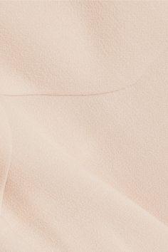 Roland Mouret - Tourney Wool-crepe Dress - Beige - UK14