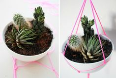 Want to get creative with flower pots? Here are 60 creative DIY planters that you can try as your next craft project.