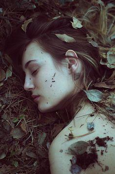 "darkbeautymag: "" ""Michelle in the Woods"" — Photographer: Michela Riva @michelarivaphotography Model: Michelle S. """