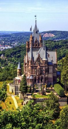 """Schloss Drachenburg, Bonn, Germany...Here's another place I missed and need to see """"next time"""""""
