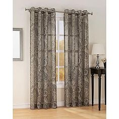 1000 images about curtains on pinterest jaclyn smith for Kmart living room curtains