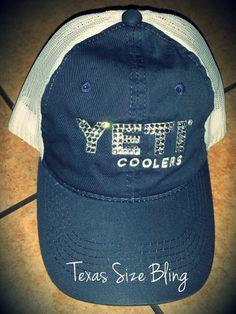 Swarovski Yeti Trucker Cap! I Love Bling and I love Yeti...what 6ada41170f83