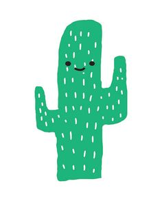 Happy Cactus downloadable print  Clean, modern, colorful  Fun for a kids room or playroom. It pairs perfectly with my Free Hugs print  Upon