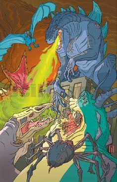 Godzilla the Series copyright 1998 Toho, Co