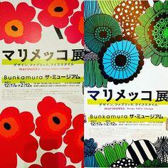 WEBSTA @ takakohasegawa1 - マリメッコ展  #marimekko#渋谷  東急Bunkamura ザ・ミュージアムで明日12日まで 。素晴らしい展示でした。Exhibition of Marimekko in Tokyo Japan.#マリメッコ展  #マリメッコ  #ウニッコ #unikko #poppy #デザイン #美術館 #exhibition #shibuya #museum