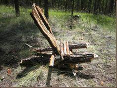 Build a camp chair