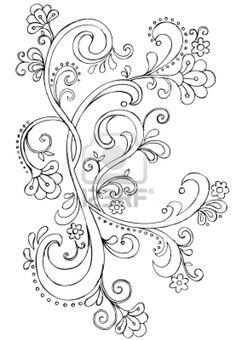 swirly vine
