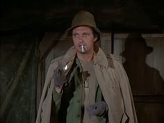 """M*A*S*H: Season 1, Episode 10 I Hate a Mystery (26 Nov. 1972)  Hawkeye"""" Pierce, Alan Alda,  mash, 4077."""