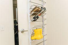 The Best Shoe Rack | Reviews by Wirecutter Display Design, Store Design, Diy Design, Shoe Drawer, Shoe Cabinet, Best Shoe Rack, Door Rack, Hanging Racks, Retail Interior