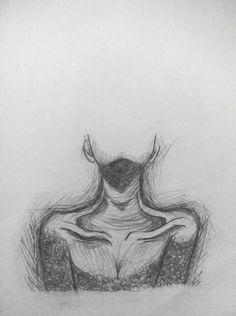 # pencil - Art Drawing - Art World Dark Art Drawings, Pencil Art Drawings, Art Drawings Sketches, Drawing Drawing, Drawing Tips, Drawing With Pencil, Sad Drawings, Drawing Ideas, Sketch Ideas