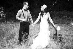 vintage wedding pic