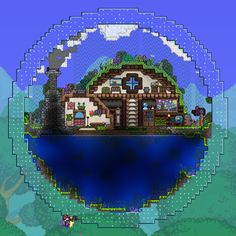 I decided to make my own fishing biomes in a bid to appease the angler :P - Album on Imgur