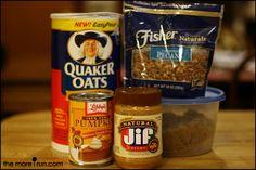 Oats in a Jar! easy make ahead breakfast idea