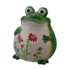 .Pottery frog