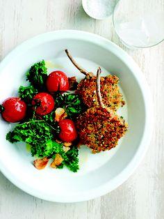 Quinoa-Crumbed Lamb - I just ripped out the quinoa recipes to put in my recipe folder! Love Donna Hay recipes and I love quinoa... winner!