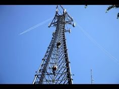 Henkels & McCoy - Cell Tower Antenna Installation - YouTube