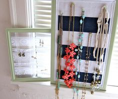 DIY Jewelry Organizer DIY Home DIY Crafts