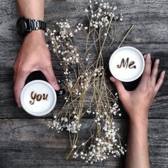 Just you & me, and coffee! ☺