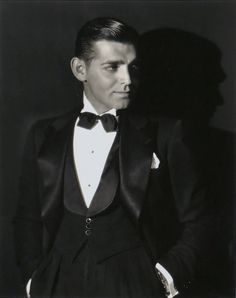 Happy Birthday to Clark Gableborn 1 February, 1901 (here shown in the 1930s)  viahollywoodsgoldenage