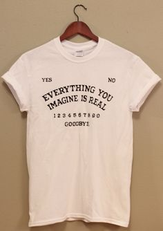 Ouija Board Inspired Unisex T Shirt