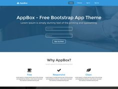 AppBox Landing Page