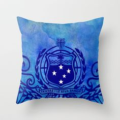 Manu Samoa Throw Pillow by Lonica Photography & Poly Designs - $20.00
