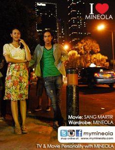 #myMINEOLA with TV & Movie Personality. Nadine Alexandra (Putri Indonesia 2010) menggunakan atasan koleksi dari MINEOLA dalam film Sang Martir. Besutan Helfi Kardit. Produksi Starvision Plus. Tayang Perdana 25 Oktober 2012  Pakaian yang dikenakan Nadine Alexandra bisa dilihat di: http://www.facebook.com/photo.php?fbid=10151163913104046=a.10151163910919046.553439.98906349045=3