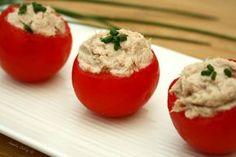 Tomates grappes farcies à la mousse de thon 1SP la recette / Weight Watchers
