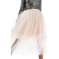 Women's Topshop Tutu Tulle Skirt ($125) ❤ liked on Polyvore featuring skirts, pink, pink tutu skirt, ballet tutu, ballerina tutu, pink tutu and pink ballet skirt