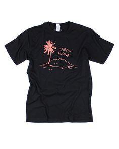 Happy Alone T-Shirt-Stay Home Club-Strange Ways