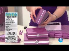 How to Make Beautiful Boxes Using a Score Board with Leann Chivers | New To You - YouTube