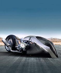 BMW R1100 KHAN concept is a futuristic motorcycle that belongs to blade runner