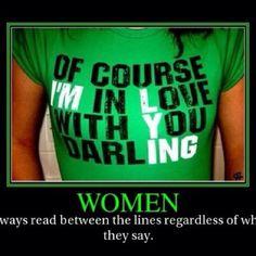 Always read between the lines