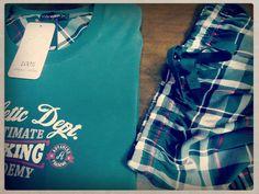 «Pinewood Forest» pyjamas for him, made of 100% cotton! #uomodivamp #pyjamas #plaid