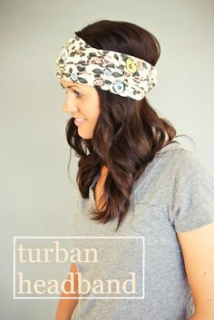DIY: Turban Headbands