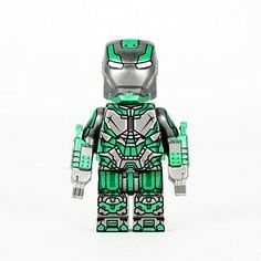 LEGO® is a trademark of the LEGO® Group which does not sponsor, authorize or endorse this product. They are perfect for collecting, and can also stand up to extended play. Lego Custom Minifigures, Lego Minifigs, Lego Ninjago, Legos, Lego Hand, Lego Iron Man, Best Lego Sets, Amazing Lego Creations, Iron Man Suit