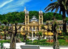 Basque Country, Gipuzkoa, Donostia-San Sebastian, Town Hall San Sebastian Spain, Inter Rail, Basque Country, Spain And Portugal, France, Town Hall, Travel And Leisure, Informa, Travel Photography