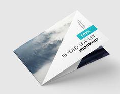 """Consultare la pagina di questo progetto @Behance: """"Free horizontal bi-fold leaflet mockup"""" https://www.behance.net/gallery/45616495/Free-horizontal-bi-fold-leaflet-mockup"""