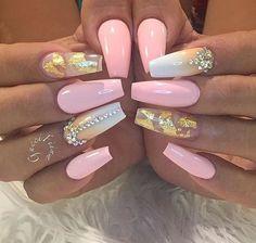Top 30 Trending Nail Art Designs And Ideas - Nail Polish Addicted Pretty Nail Colors, Pretty Nail Designs, Pretty Nails, Nail Art Designs, Beautiful Nail Art, Gorgeous Nails, Love Nails, My Nails, Matte Nails