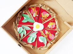 Make A Paper Pizzeria
