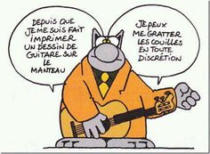 Fallait y penser ! (Philippe GELUCK - Le Chat) French Meme, Music Humor, Gaston, Funny Fails, Funny Pictures, Jokes, Comics, Fictional Characters, Photos