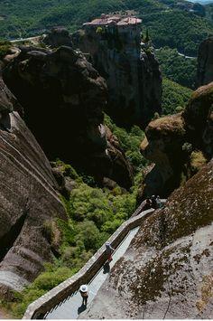 The great Meteora monastery, Greece. #Reisetipps