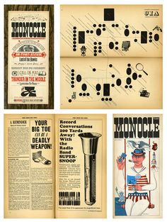 The original Monocle, an influential magazine back in the 50's.