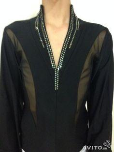 Рубашка для бальных танцев (латина)