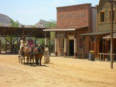 Escenario de película - La recreación estaba tan bien hecha que parecía que Clint Eastwood iba a aparecer en cualquier momento. Mini Hollywood – Desierto de Tabernas (Almería)