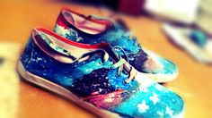 Trying Galaxy Shoes... :p