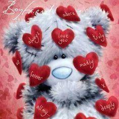 Another cute teddy bear valentine