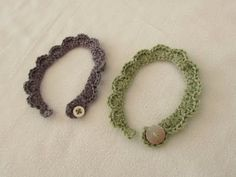 These Shell Stitch Bracelets Are A Perfect Beginners Project, And They Make Great Gifts! | Starting Chain